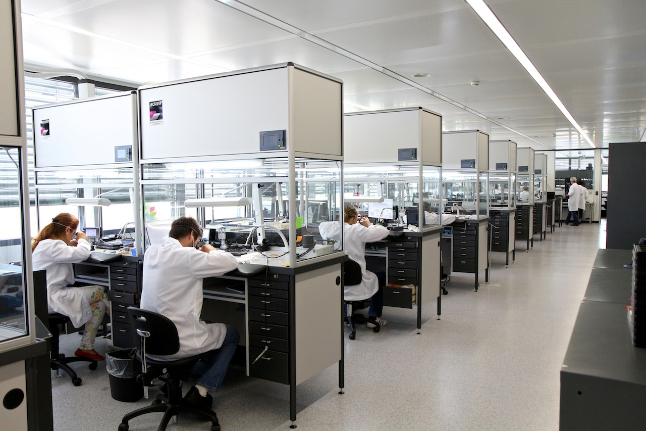 Hublot Watchmakers at Work