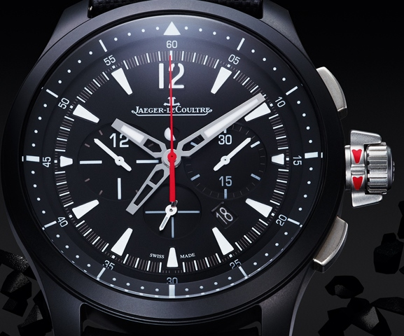 Jaeger-LeCoultre Master Compressor Chronograph Ceramic - Dial