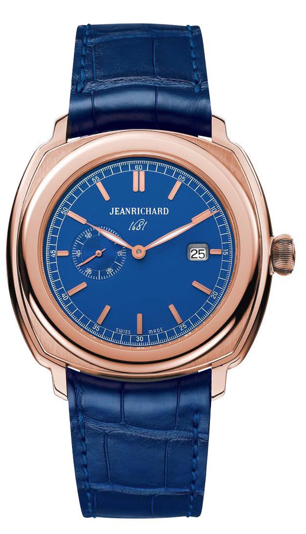 JeanRichard 1681 Blue Model (Pink Gold)