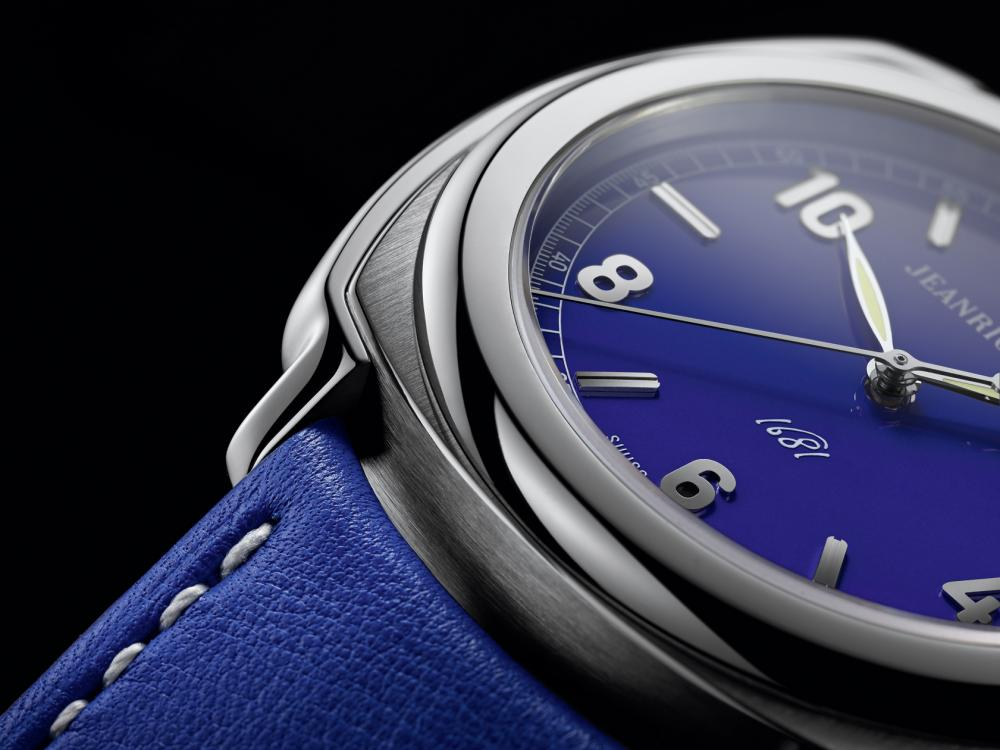 JeanRichard 1681 Blue Model - Baselworld 2014
