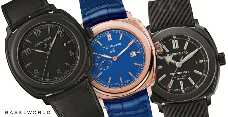 JeanRichard Collection Baselworld 2014