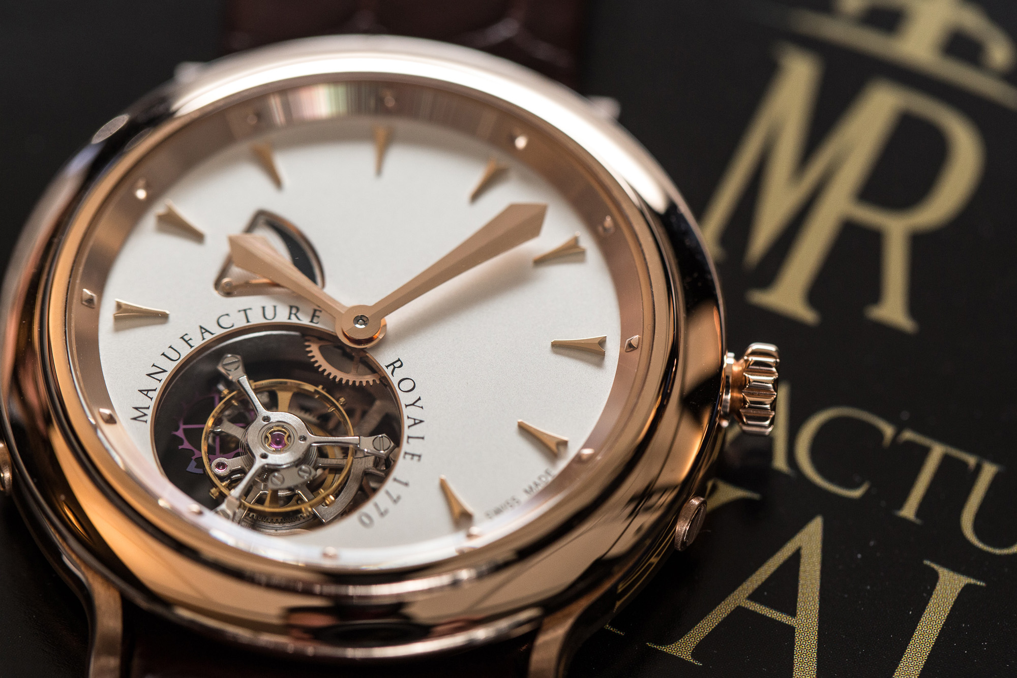 Manufacture Royale 1770 Tourbillon Volant