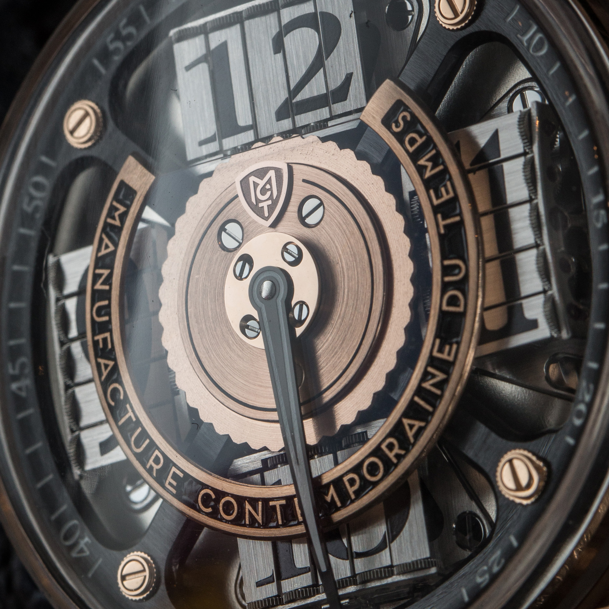 MCT S200 Watch - Dial