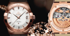 Omega Constellation Sedna Gold
