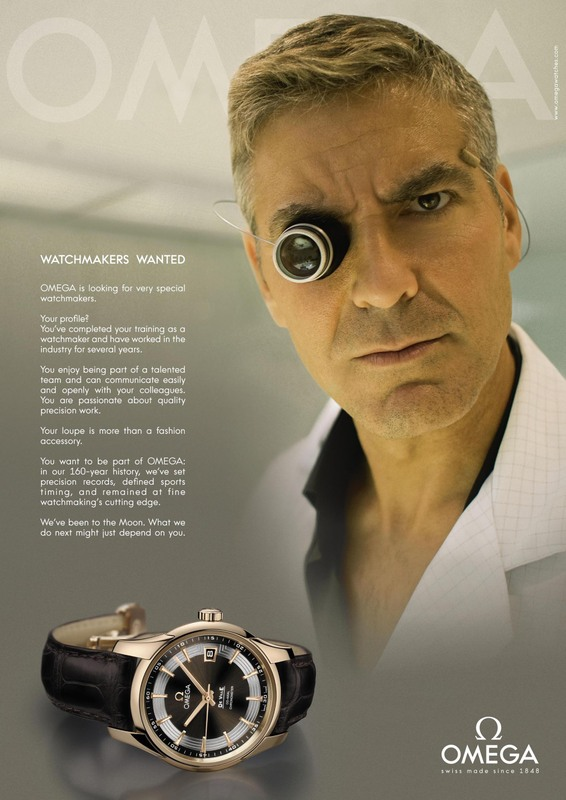 Omega Human Ressource Campaign to recruit Watchmakers