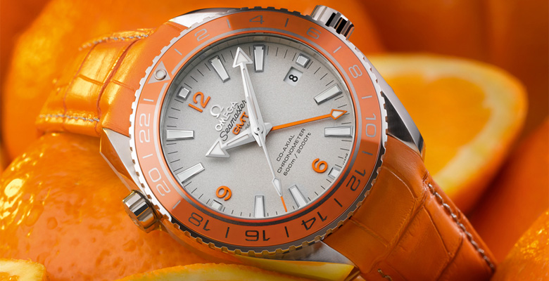 Omega Seamaster Planet Ocean GMT Orange Ceramic
