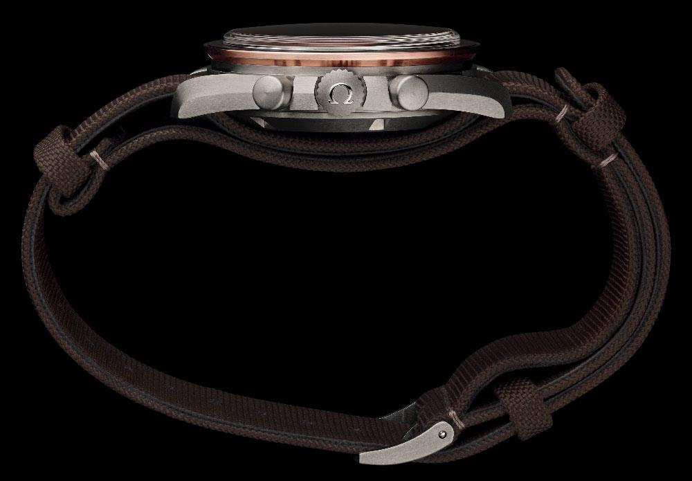 Omega Speedmaster Baselworld 2014 - Sideview