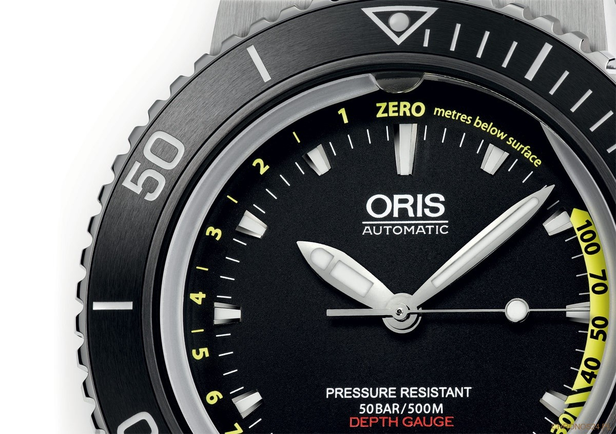Oris Aquis Depth Gauge - Dial