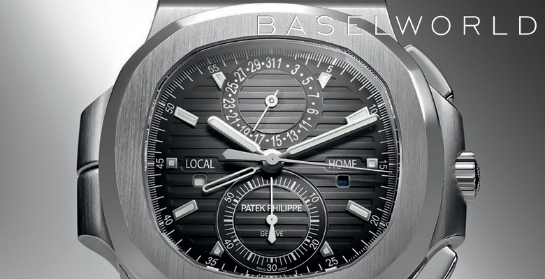 Patek Philippe 5990 Nautilus Travel Time Chronograph - Baselworld 2014