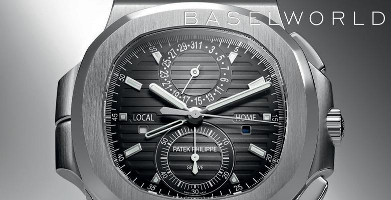 Patek Philippe 5990 Nautilus Travel Time Chronograph - Baselworld 2014
