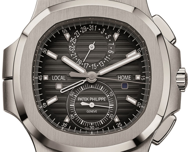 Patek Philippe Nautilus Travel Time Ref. 5990/1A - Dial