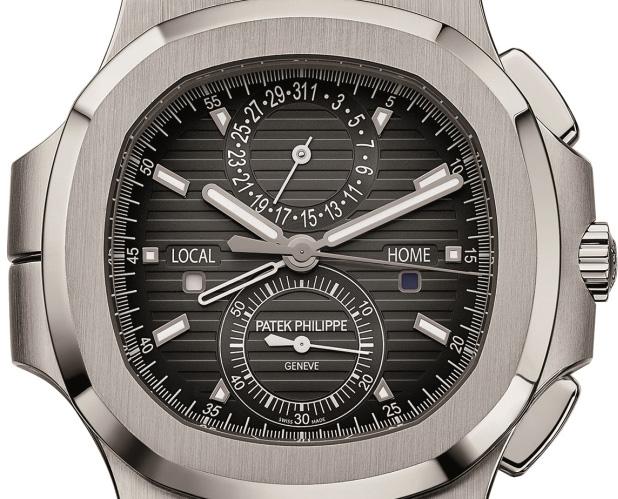 Patek Philippe Nautilus Travel Time Ref. 5990/1A - Dial
