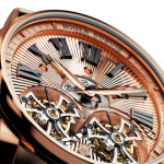 Roger Dubuis Hommage Double Flying Tourbillon in Pink Gold