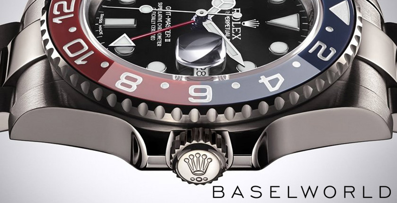 Rolex GMT-Master II (Ref. 116719 BLRO) - Baselworld 2014