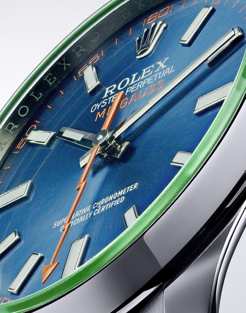 Rolex Milgauss Ref. 116400GV - Dial