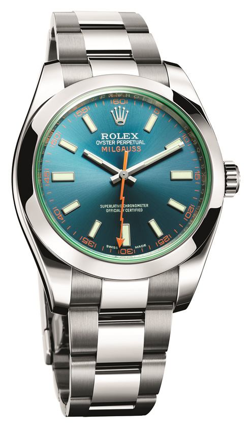 Rolex Milgauss Ref. 116400GV replica watch