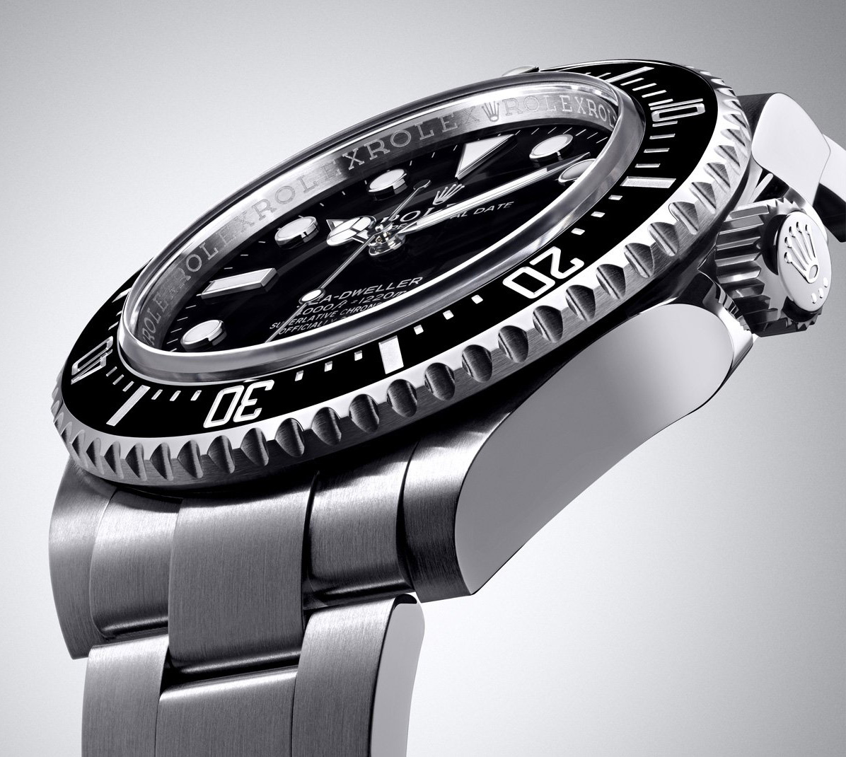 Rolex Sea-Dweller 4000 - Bezel