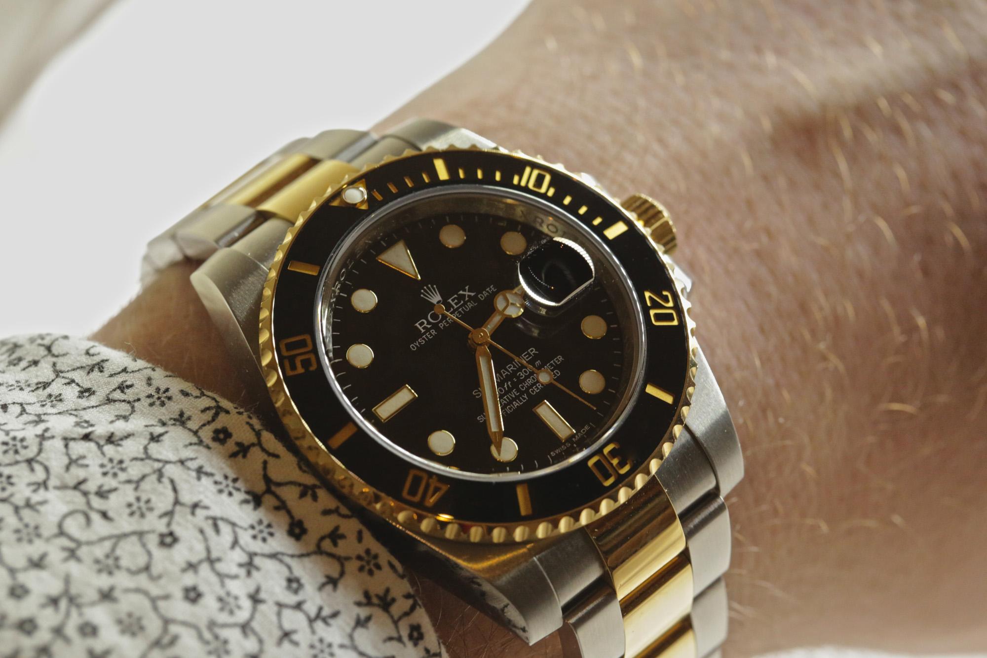 Rolex Submariner Date (Ref. 116613LN) - Wristshot