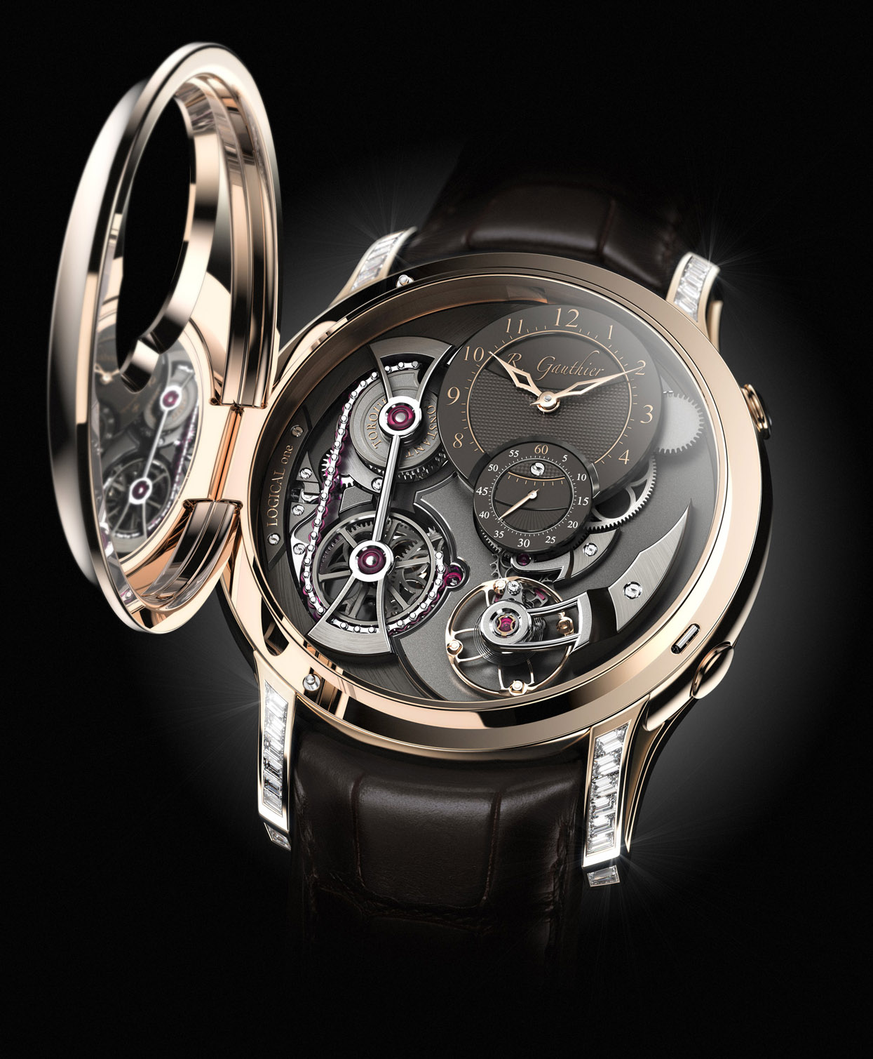 Romain Gauthier Logical One Secret - Baselworld Release