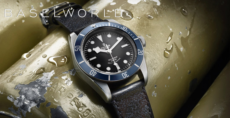 Tudor Heritage Black Bay in Blue - Baselworld 2014