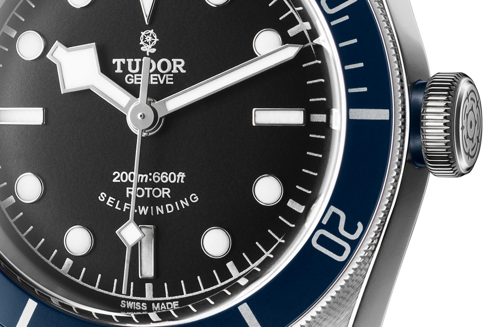 Tudor Heritage Black Bay Blue - Baselworld 2014
