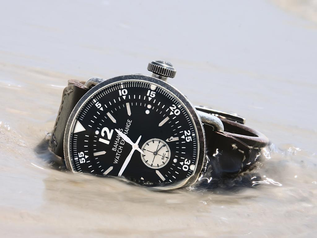 Watch Relaxing on the Beach