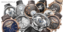 Arnold & Son Collection Baselworld 2014 - The seven pieces of Mr Arnold...