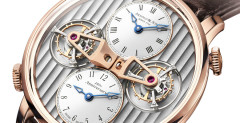 Arnold & Son DTE: amazing Double Tourbillon Escapement