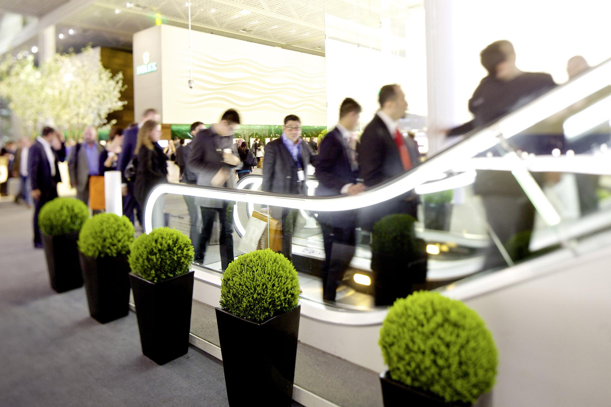 BASELWORLD 2014 | Global Brands | Hall 1.0 | Impression