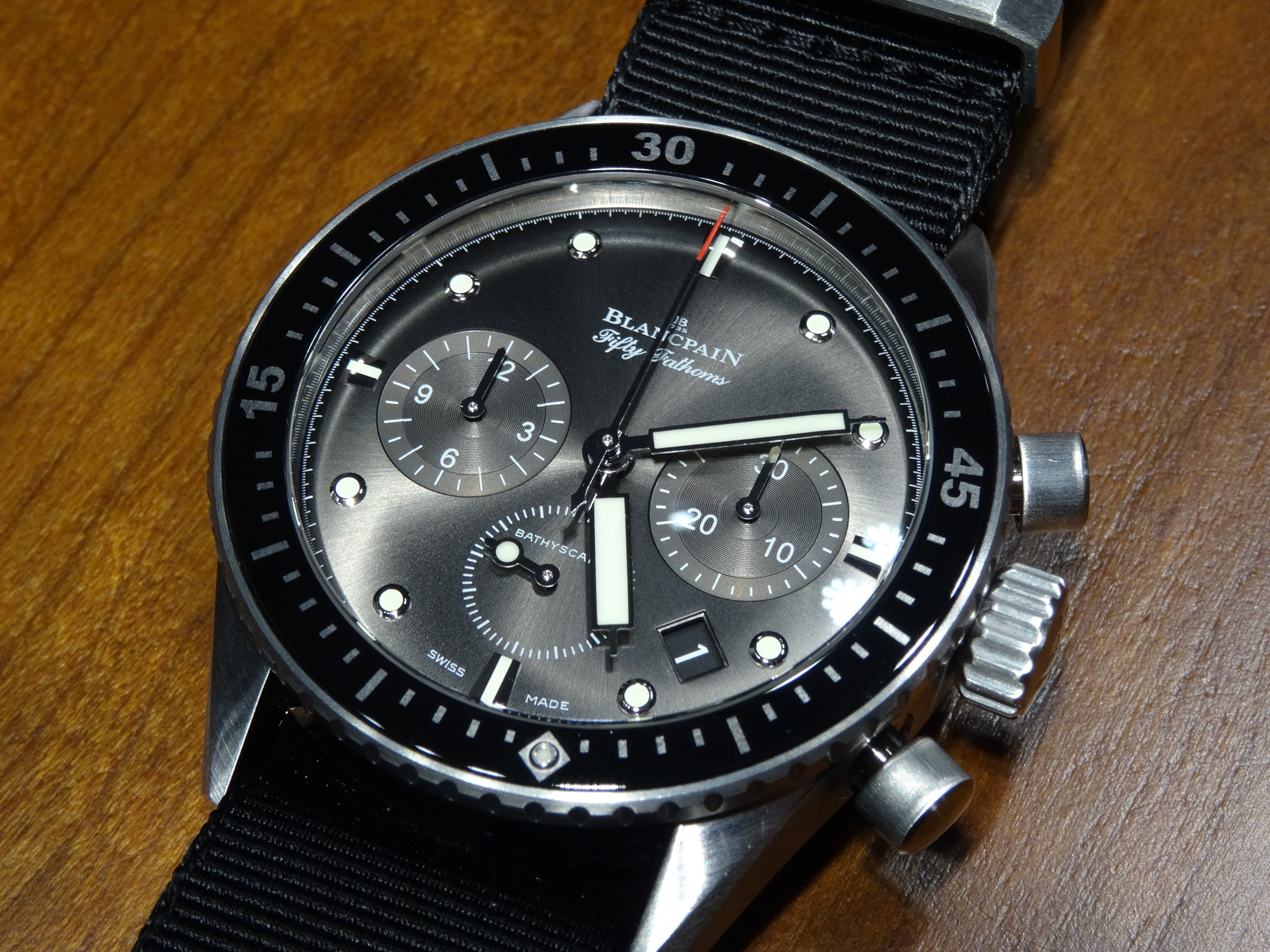Blancpain Fifty Fathoms Bathyscaphe - Baselworld 2014