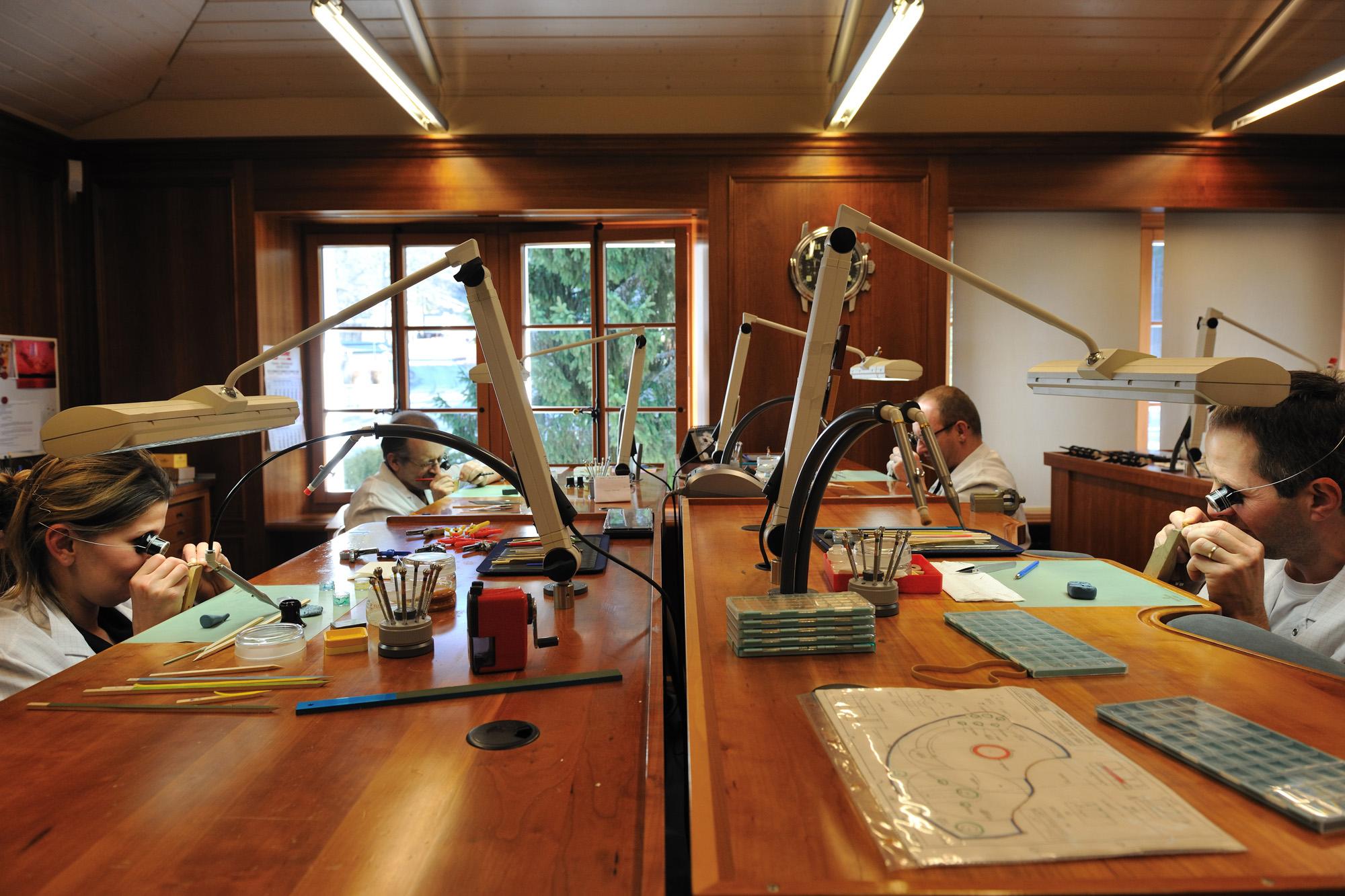 Blancpain Manufacture - Atelier Decoration