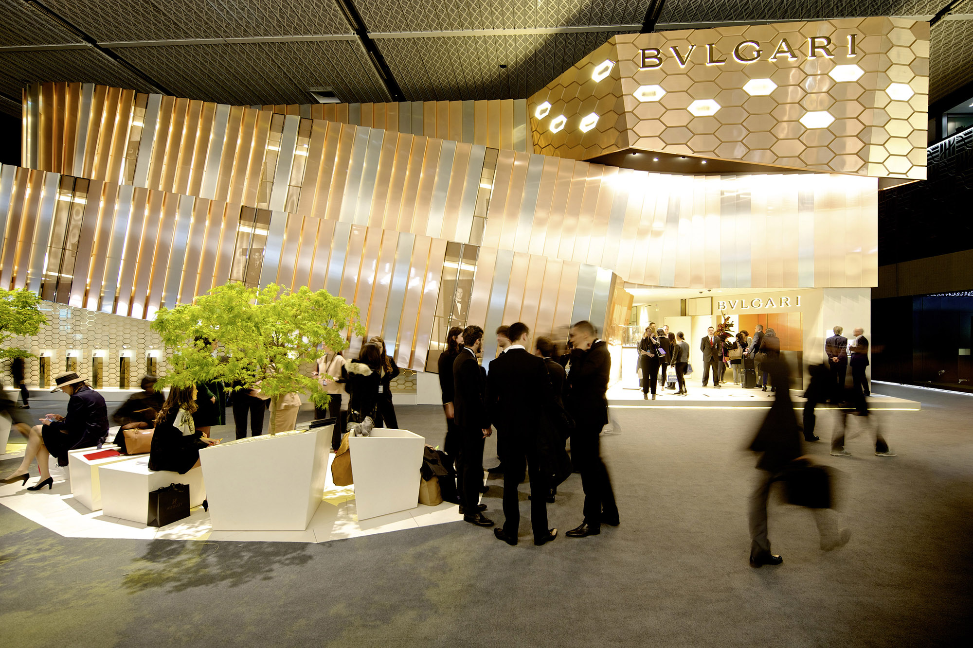 Bvlgari Stand - BASELWORLD 2014 - Hall 1.0