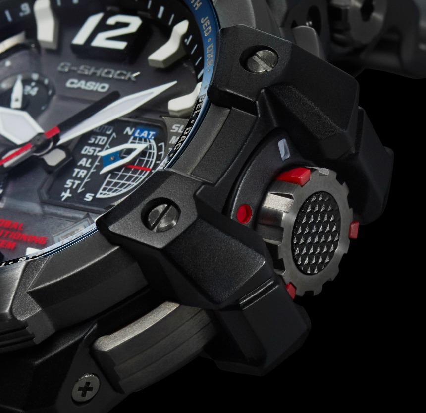 Casio G-Shock GPW-1000 GPS - Crown
