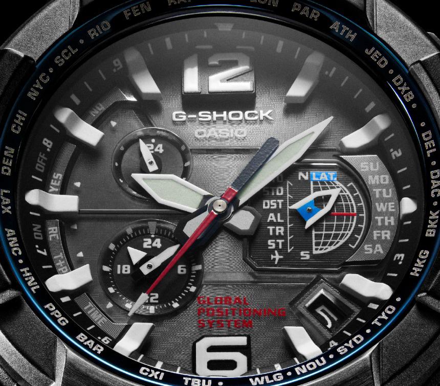 Casio G-Shock GPW-1000 GPS - Dial