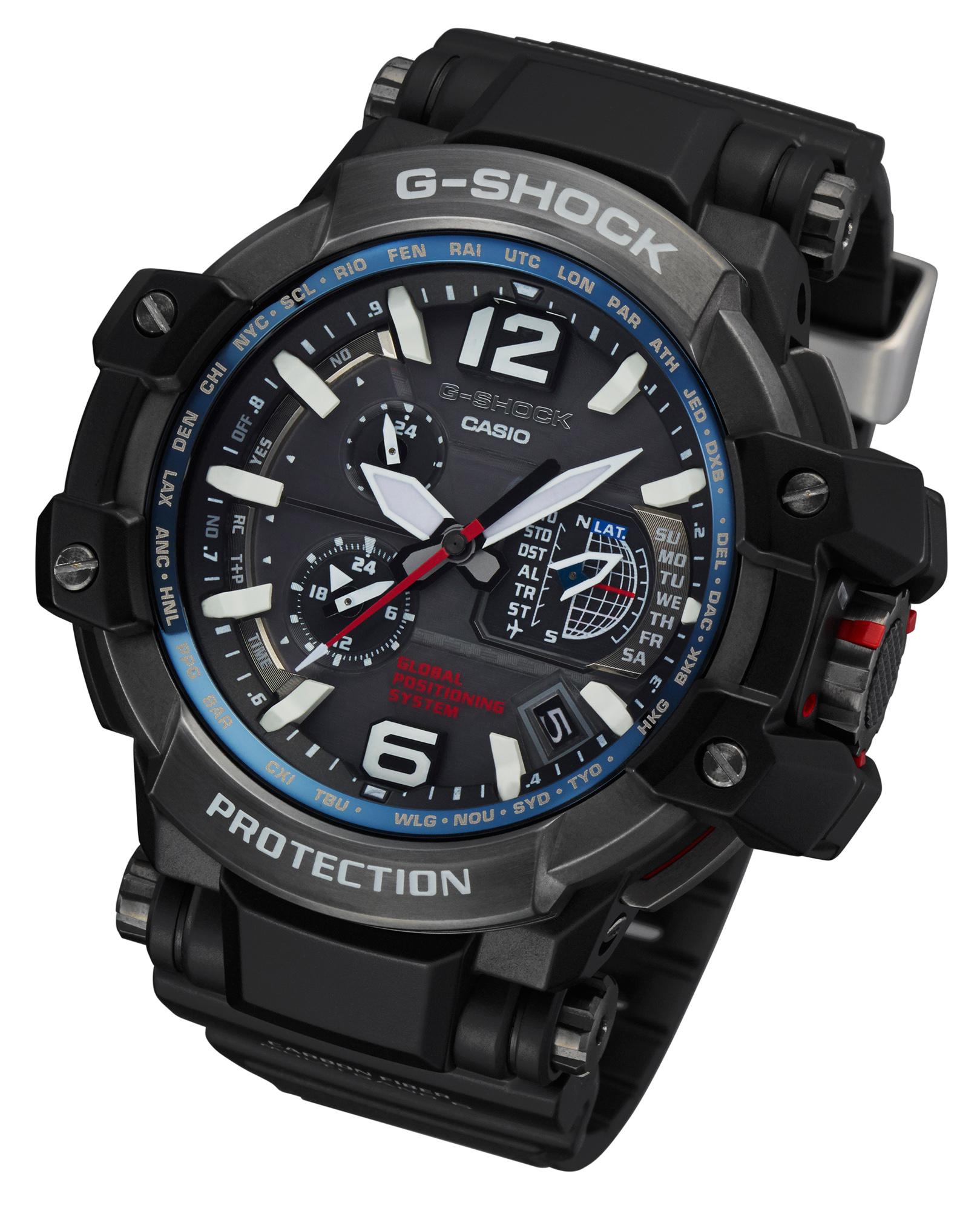 Casio G-Shock GPW-1000 GPS - Baselworld 2014