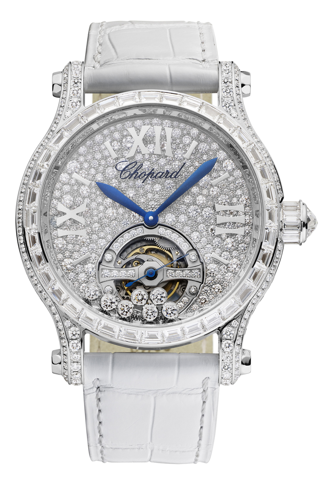 Chopard Happy Sport Tourbillon Joaillerie Model (42mm)