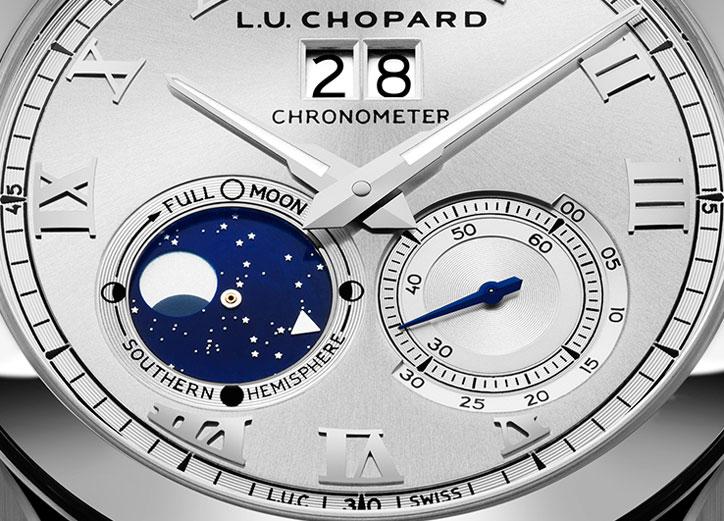 Chopard L.U.C Lunar Big Date - Dial