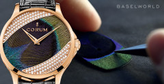 Corum Baselworld 2014 - It's back, the Corum Feather watch !