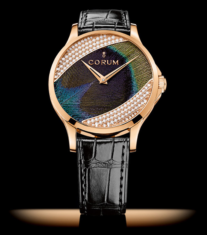 Corum Feather Watch - Baselworld 2014