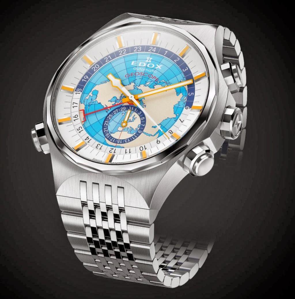 Edox Geoscope GMT Automatic Limited Edition (Ref. 07002)