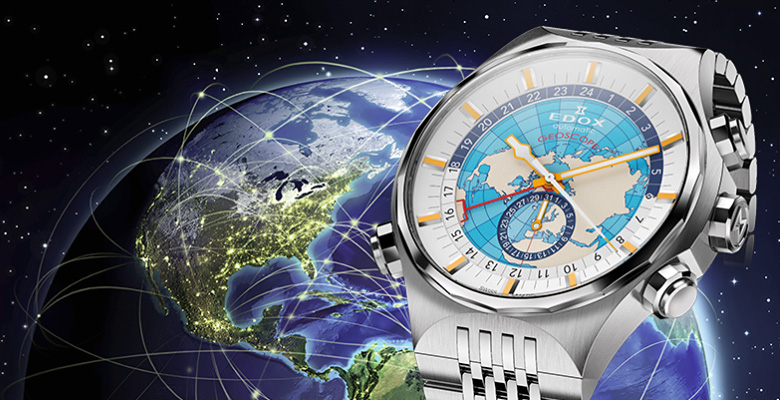 Edox Geoscope GMT Automatic Limited Edition (Ref. 07002)