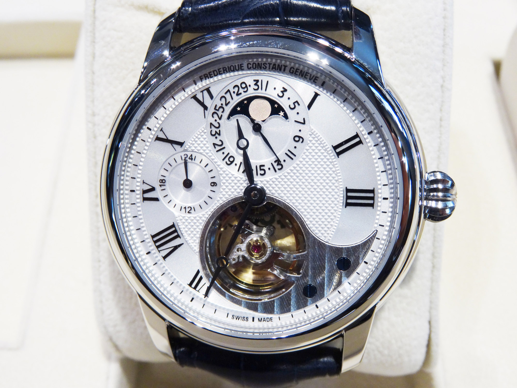 Frederique Constant Heart Beat Manufacture - Baselworld 2014 Photo
