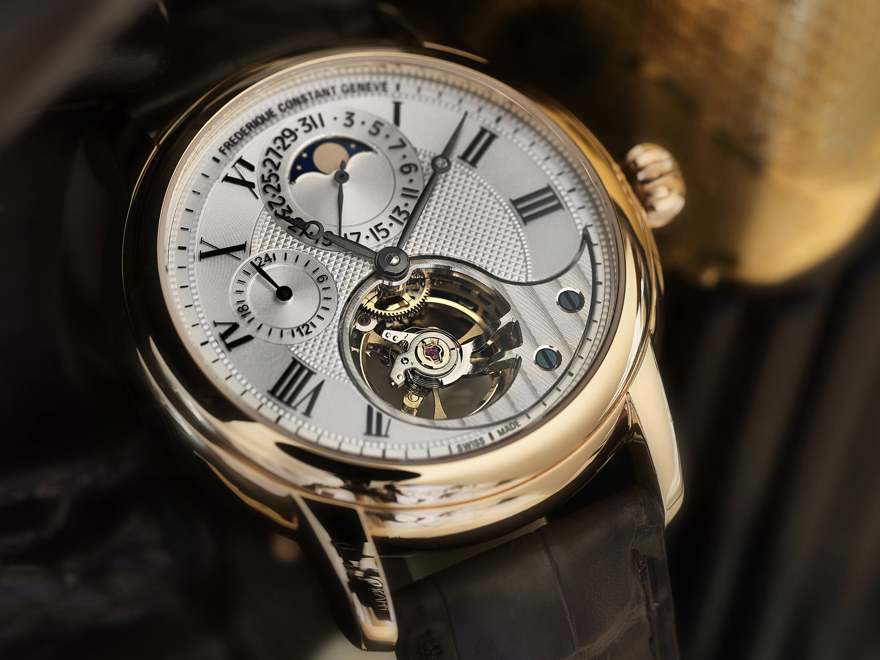 Frederique Constant Heart Beat Manufacture in Rose Gold