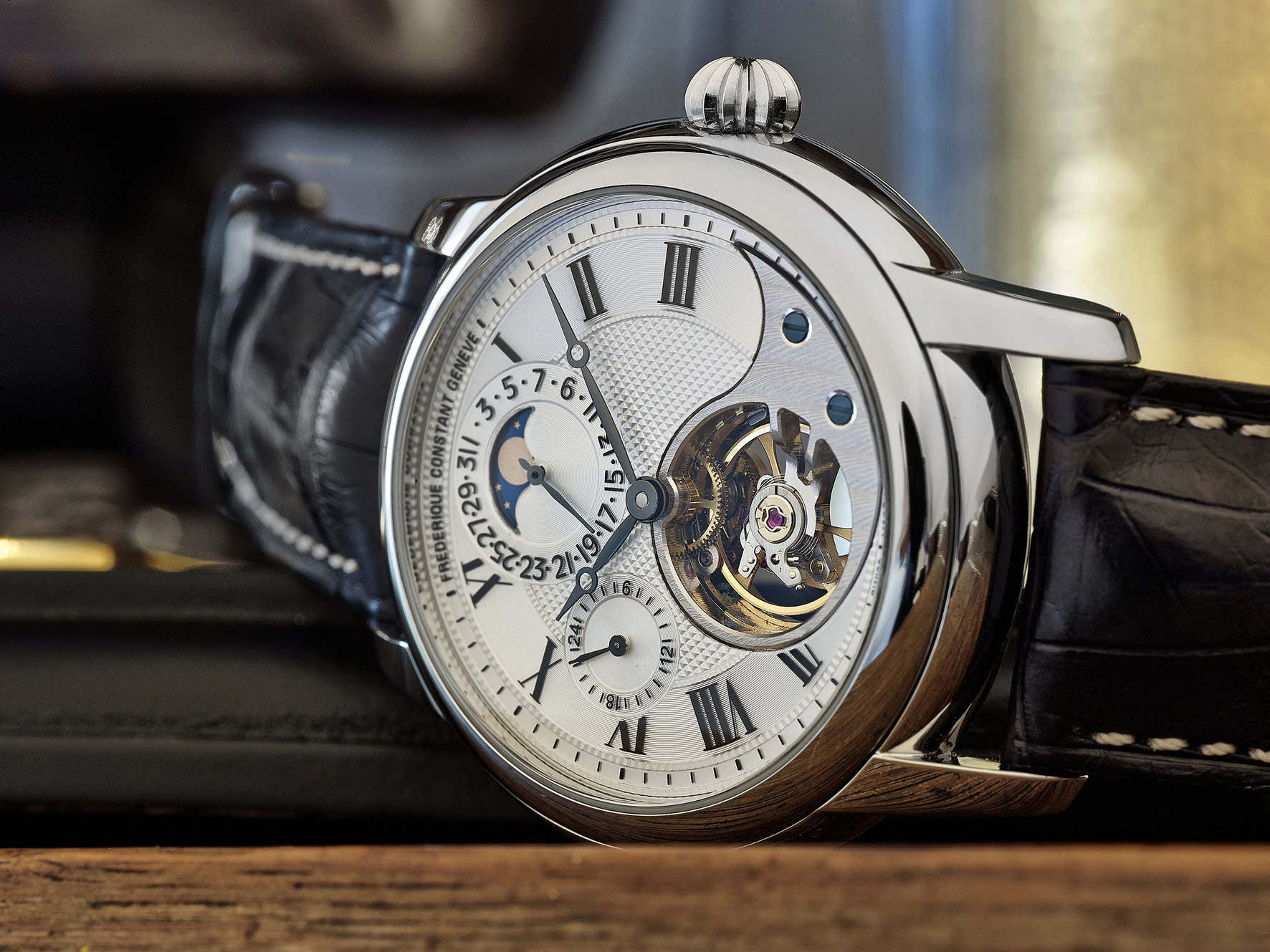 Frederique Constant Heart Beat Manufacture in Stainless Steel