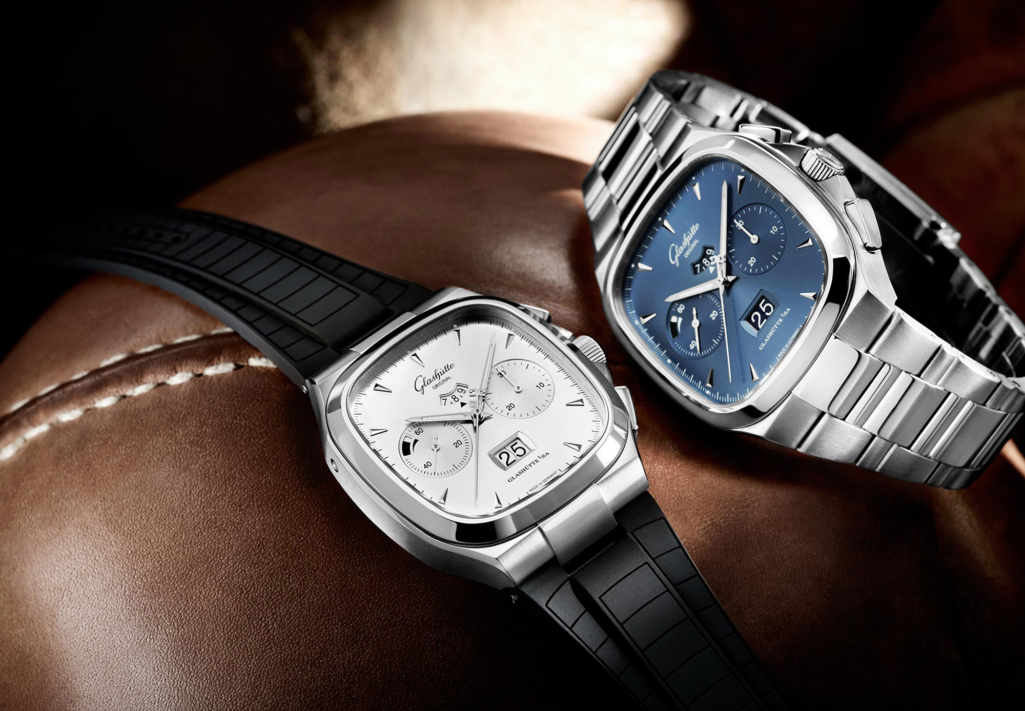 Glashütte Original Seventies Chronograph Panorama Date - Collection Baselworld 2014