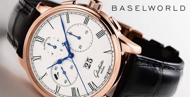 Glashütte Senator Chronograph Panorama Date - Baselworld 2014