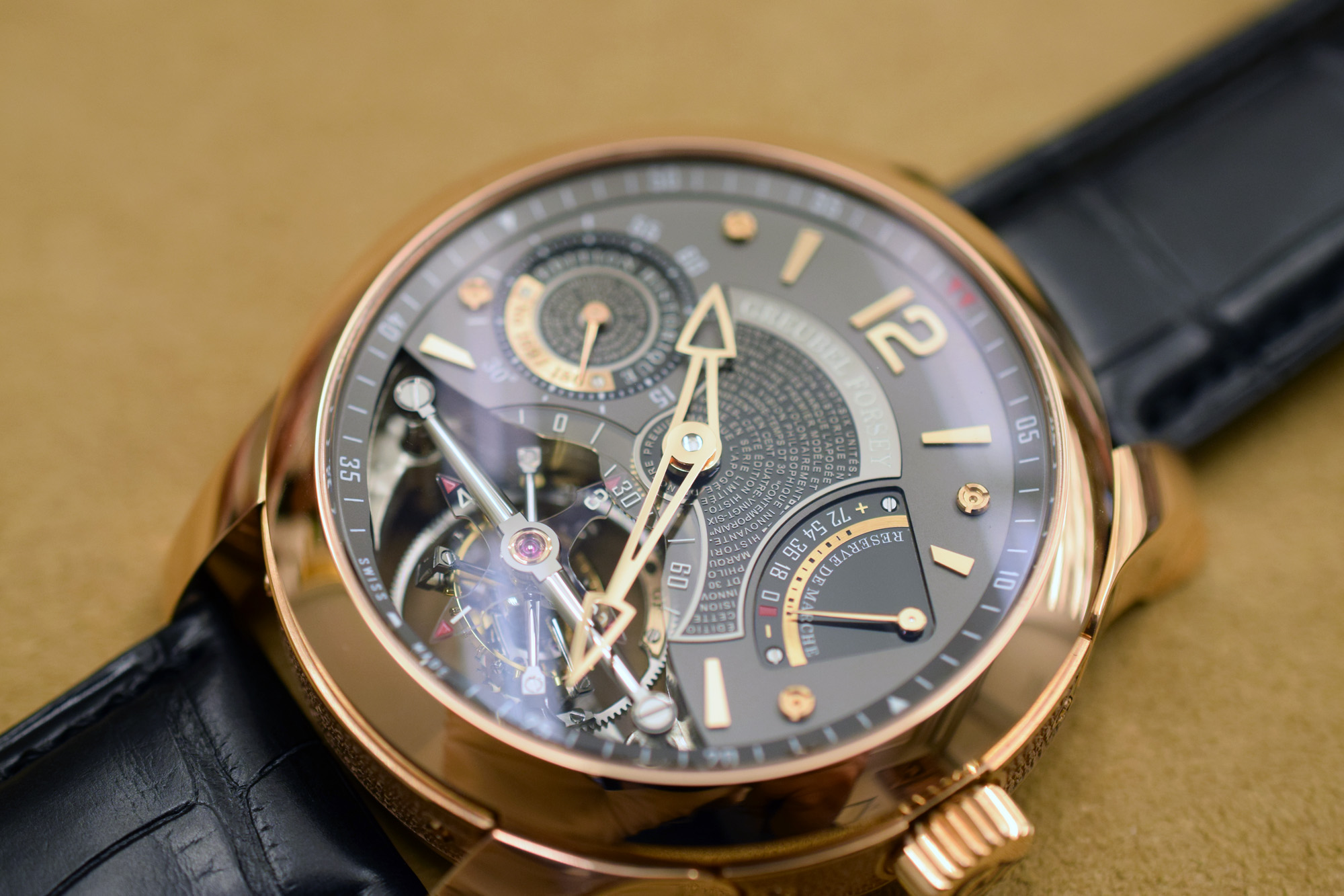 Greubel Forsey Double Tourbillon 30° Edition Historique Red Gold
