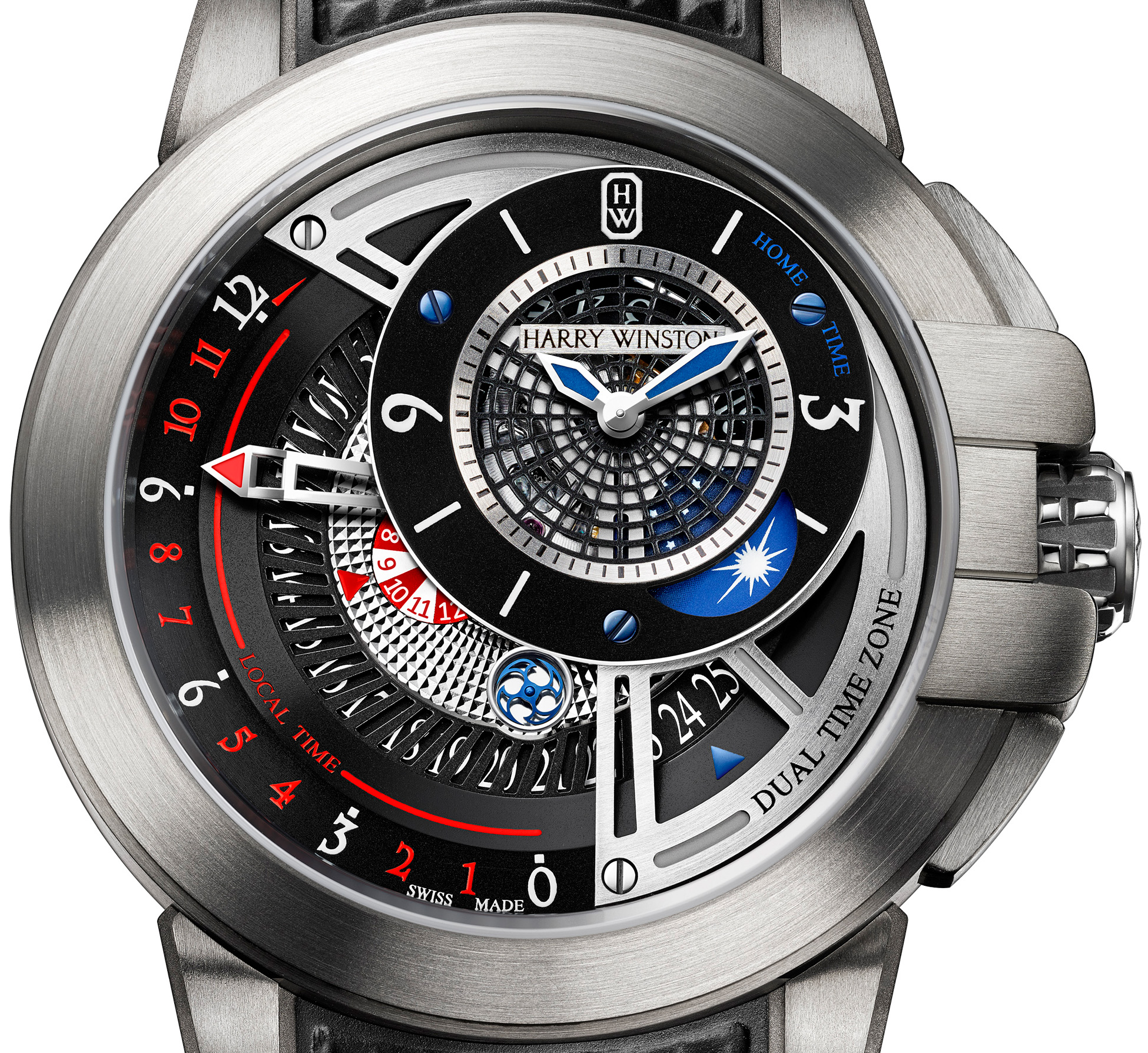 Harry Winston Project Z8 - Dial
