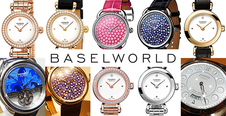 Hermès Baselword 2014 - Between horses, hidden hours and Italian flowers