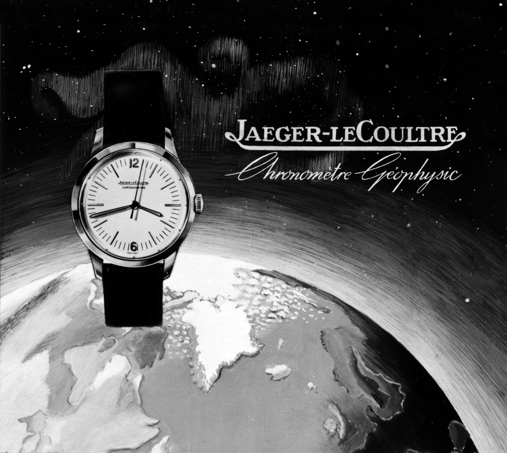 Historical Poster on Jaeger-LeCoultre Geophysic